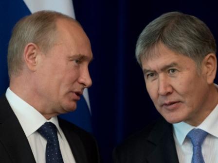 Путин и Аьамбаевэ